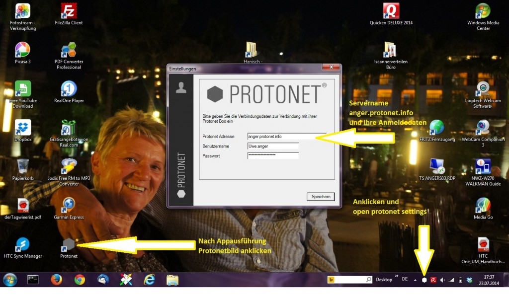 ProtonetLaufwerkseinbindungEingabeDaten